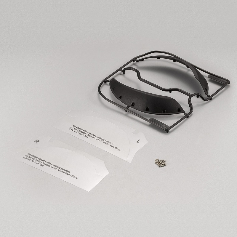 Kotflügelverbreiterung vorne für Reifen 4.53/4.72 LC70