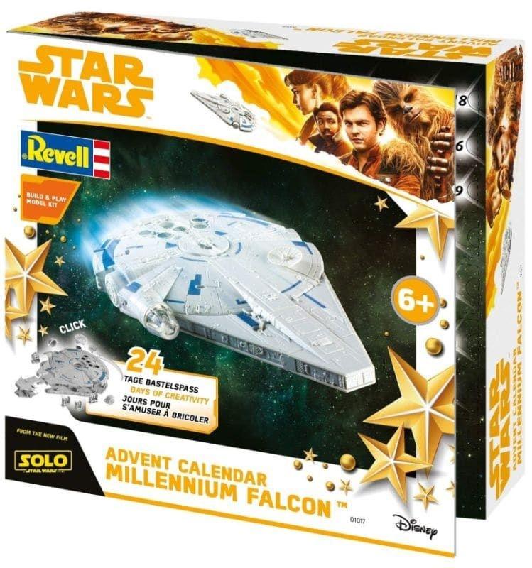 Adventskalender 2018 Han Solo Star Wars Millennium Falcon