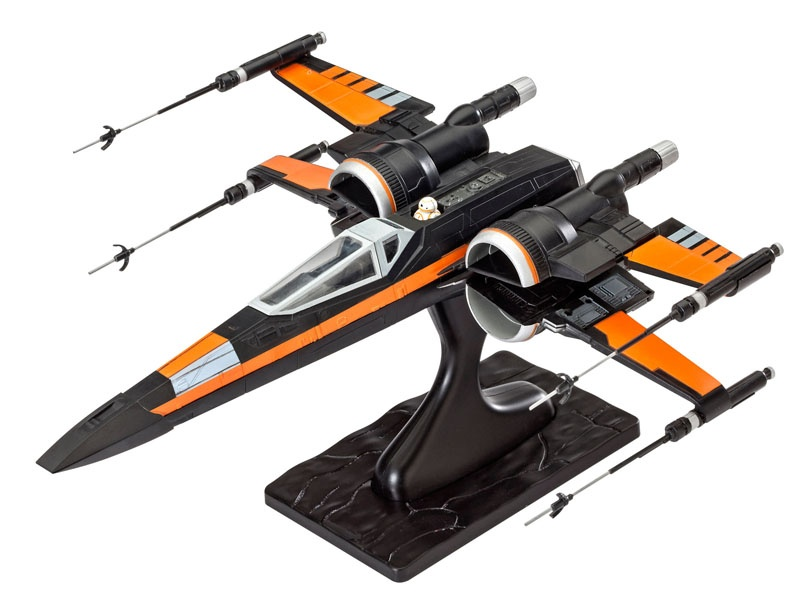 Poes X-wing Fighter 1:50