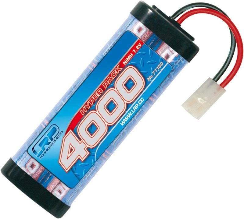Hyper Pack 4000 - 7.2V - 6-Zellen NiMH Stickpack