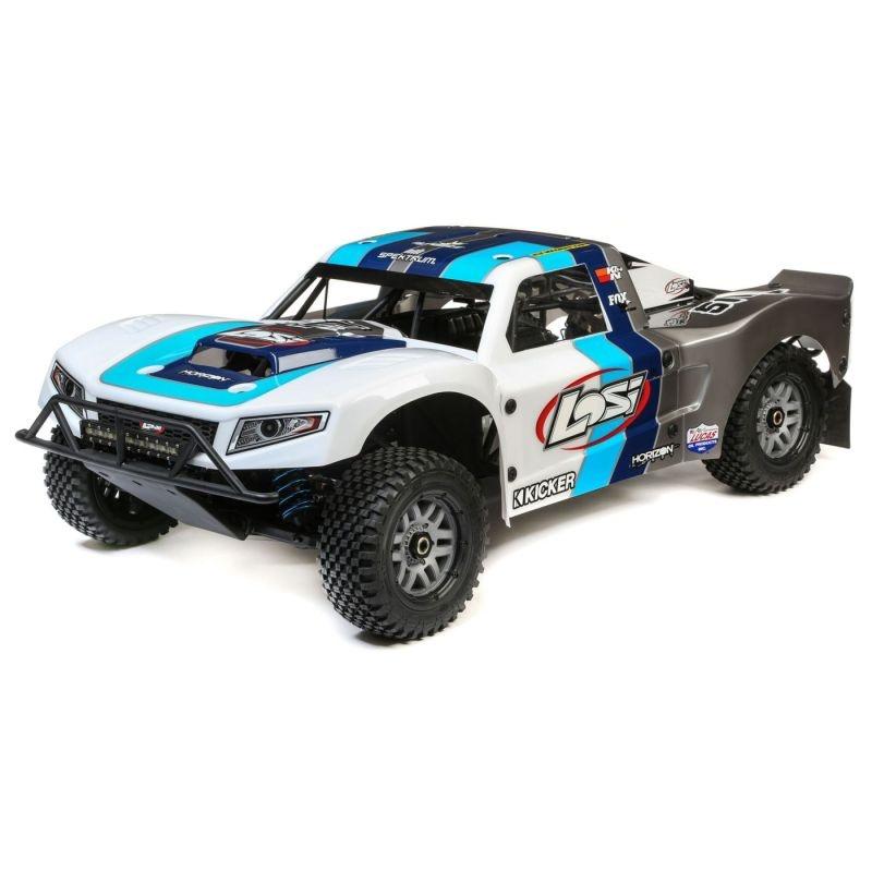 5ive-T 2.0 4WD Short Course Truck 1/5 32ccm BND blau/weiß