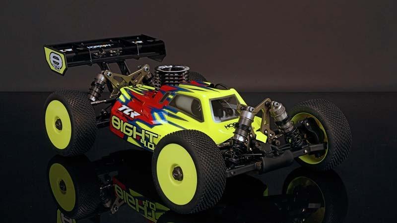 8IGHT 4.0 Race Kit: 1/8 4WD Nitro Buggy