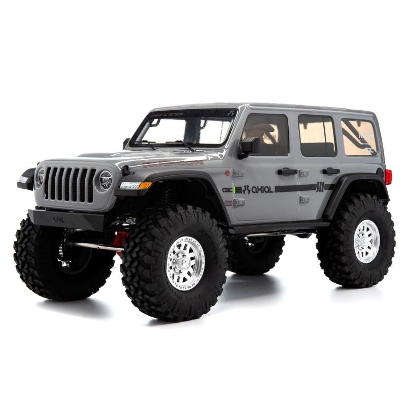 SCX10 III Jeep JLU Wrangler Crawler, Portalachsen, RTR, grau