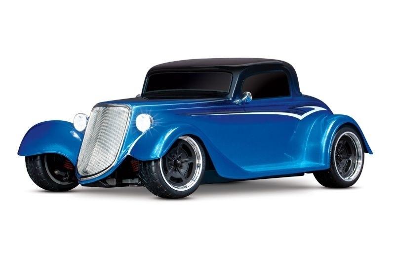 Factory Five Hot Rod 33 Coupé RTR 1/9 4Tec 3.0 blau