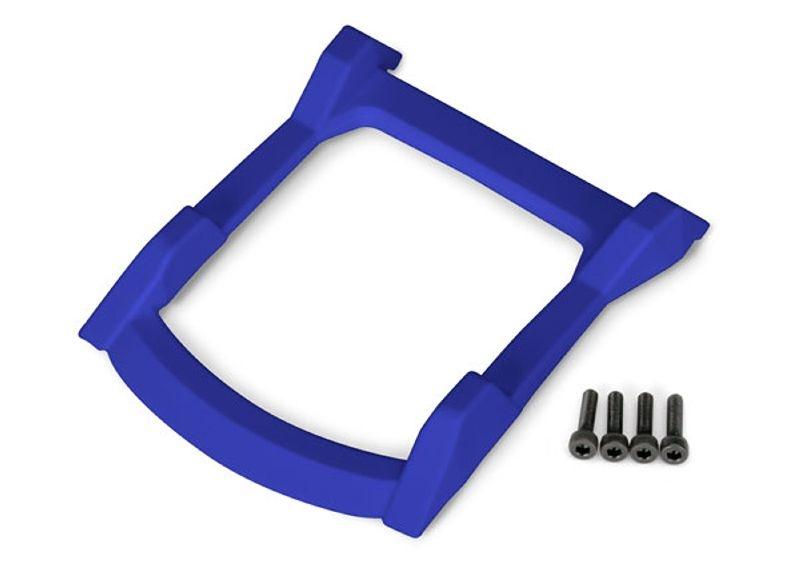 Unterfahrschutz Dach (Karosserie) für Rustler 4x4, blau