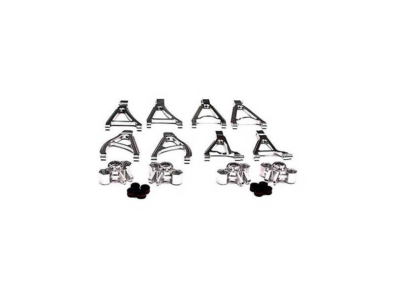CNC Alu Querlenker Conversion Set für 1/16 Traxxas E-Revo