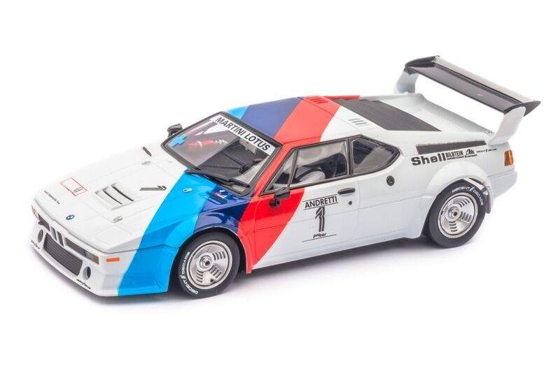 Digital 132 BMW M1 Procar Andretti, No.01, 1979