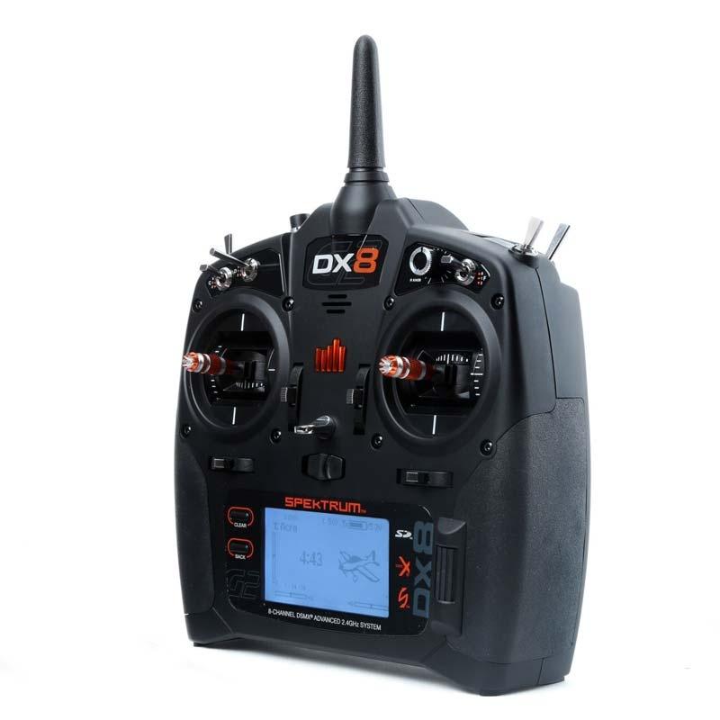 Spektrum DX8 8-Kanal DSMX-Sender m. AR8000 Empfänger