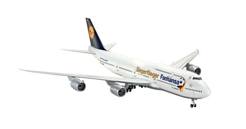 Boeing 747-8 Lufthansa Fanhansa Siegerflieger 1:144
