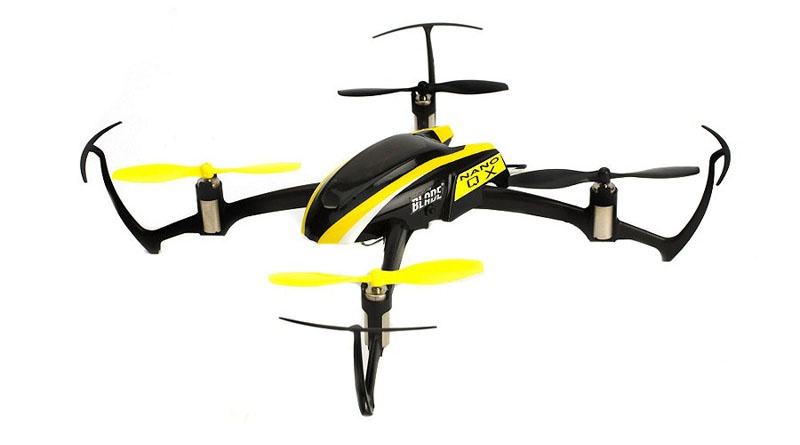 Blade Nano QX BNF Quadcopter m. SAFE-Technologie +2. Gehäuse