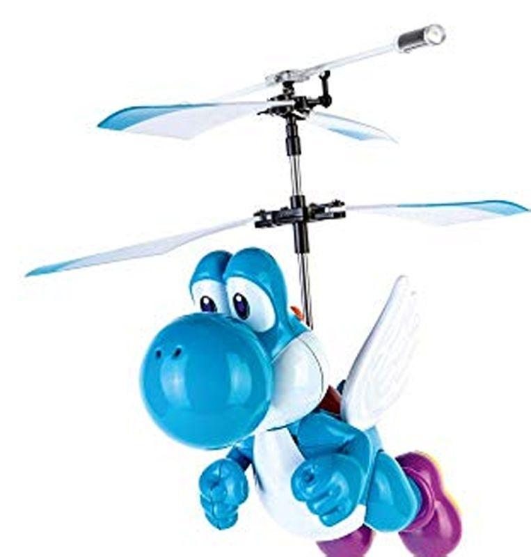 RC Super Mario (TM) Flying Yoshi light blue 2,4GHz RTF