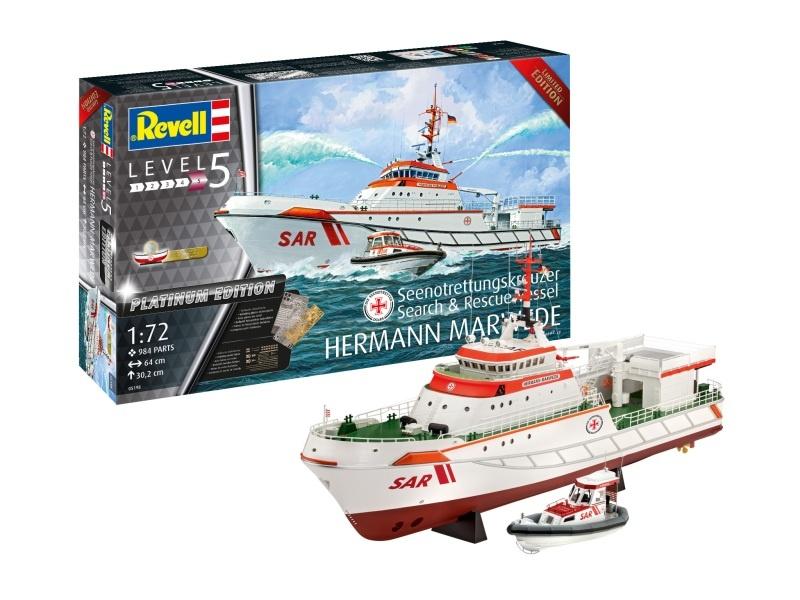 Search & Rescue Vessel HERMANN MARWEDE Bausatz 1:72