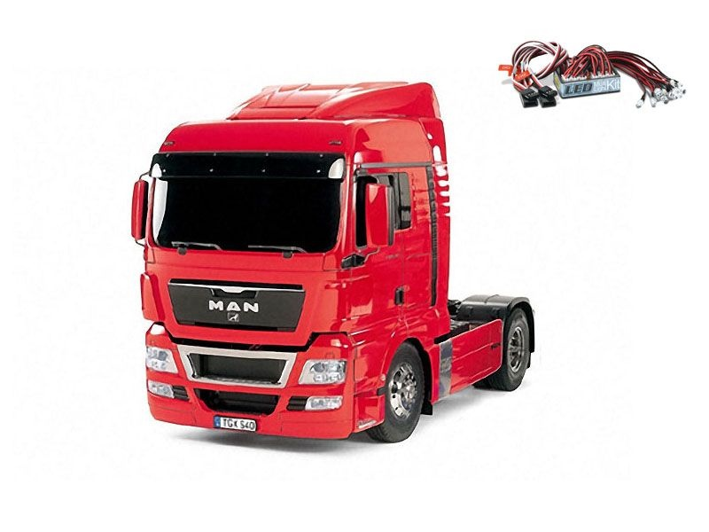 MAN TGX 18.540 4x2 XLX Red Edition + LED-Lichtset