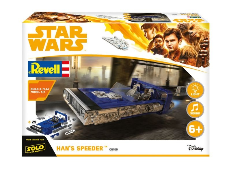 Star Wars Hans Speeder Build & Play Bausatz 1/28