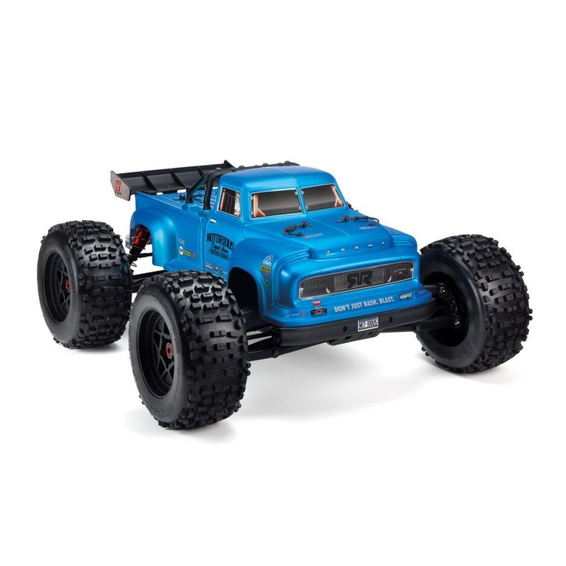 Notorious 4WD BLX Stunt Truck 1/8 6S Brushless RTR, blau