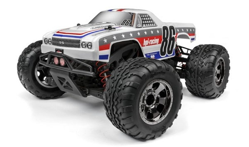 Savage XS 4WD Monster Truck Brushless El Camino 105km/h RTR