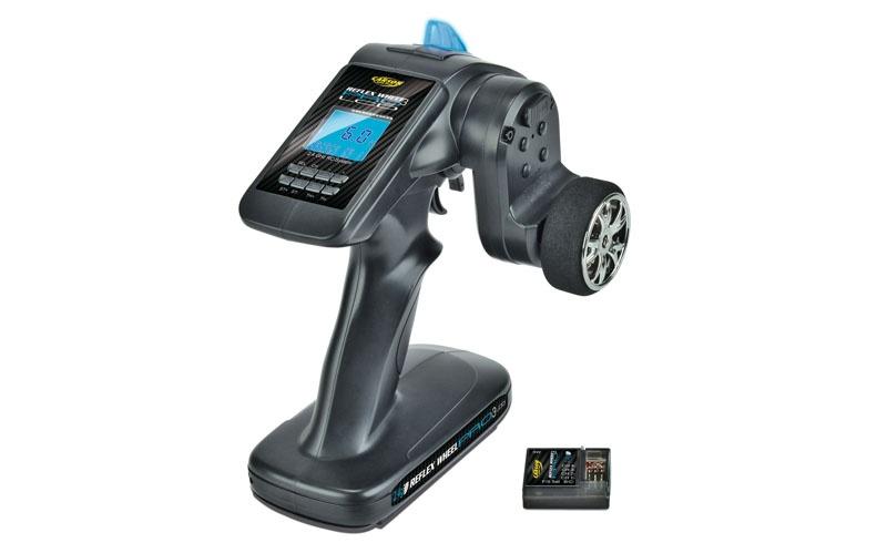 FS 3K Reflex Wheel PRO 3 LCD 2.4 GHz Fernsteuerung