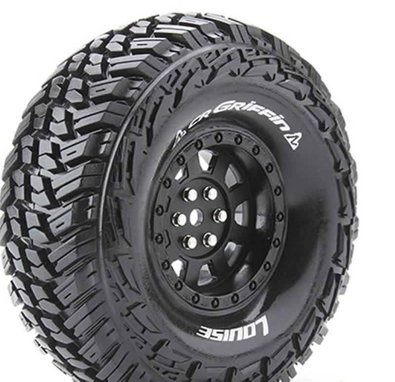 CR-GRIFFIN 1.9 supersoft Reifen + Einlage für 1:10 Crawler