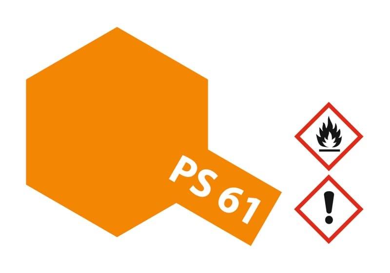 PS-61 Metallic Orange Polycarbonat 100ml
