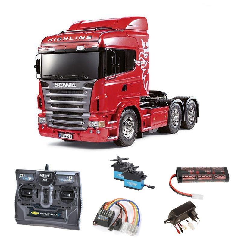Scania R620 3-Achs 6x4 1/14 2,4GHz Komplettset