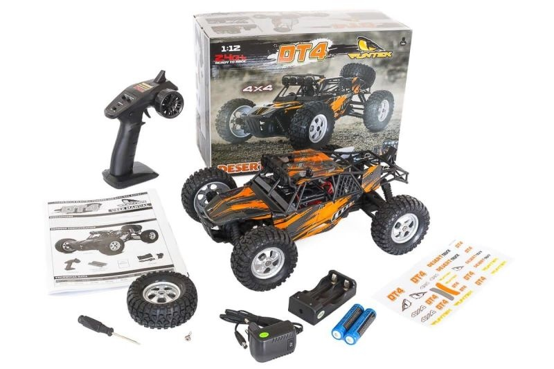 DT4 Desert Truggy / Truck 4WD EP 1/12 RTR (orange)