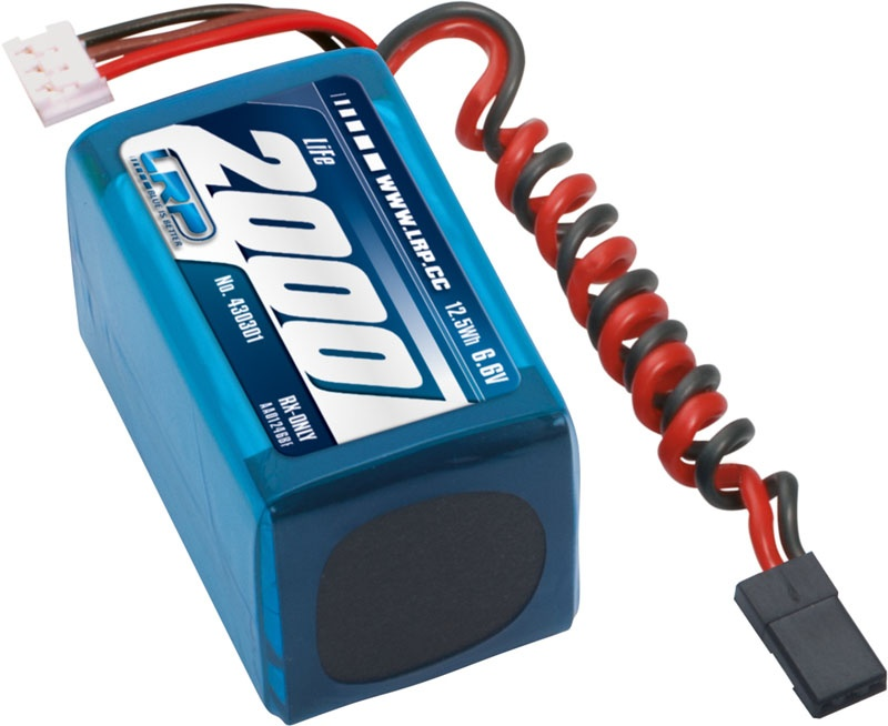 LiFePo 2000 RX-Pack 2/3A Hump - RX-only - 6.6V