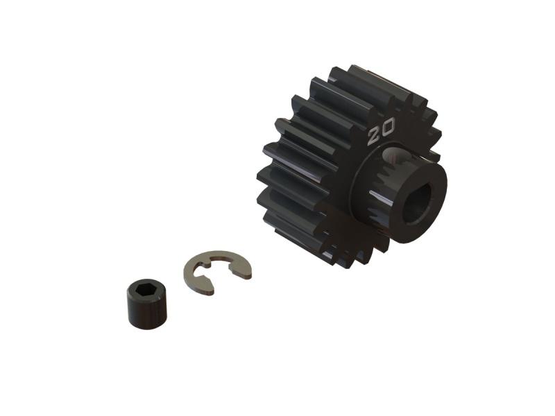 Stahl Motorritzel 20T, Modul 1 (5mm Welle) für Kraton 8S