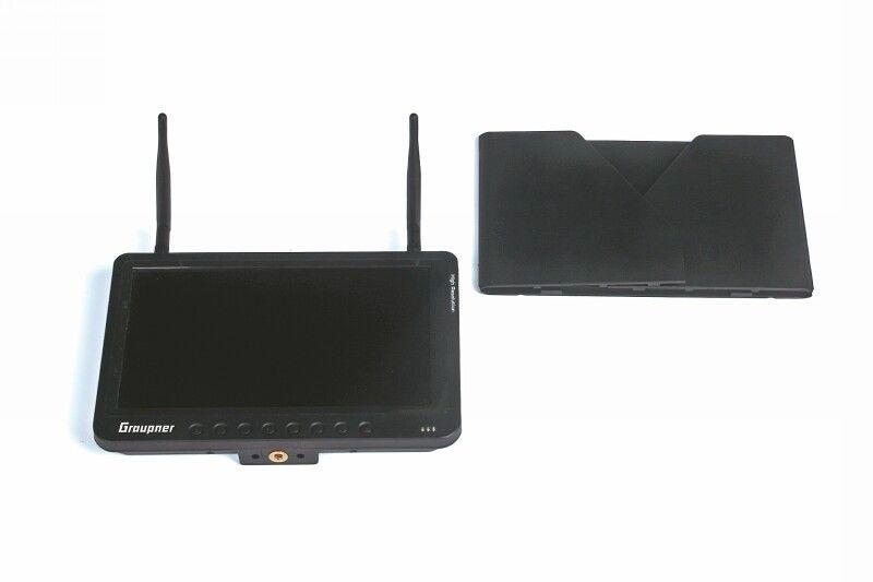 FPV Monitor 9 Zoll HD 5,8 GHz Diversity incl. Raceband