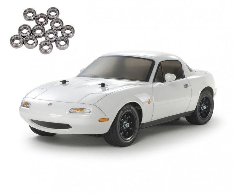 Eunos Roadster M-06 Baukasten 1:10 inkl. Kugellager