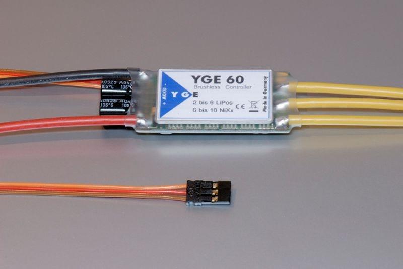 YGE 60 Flugregler V5