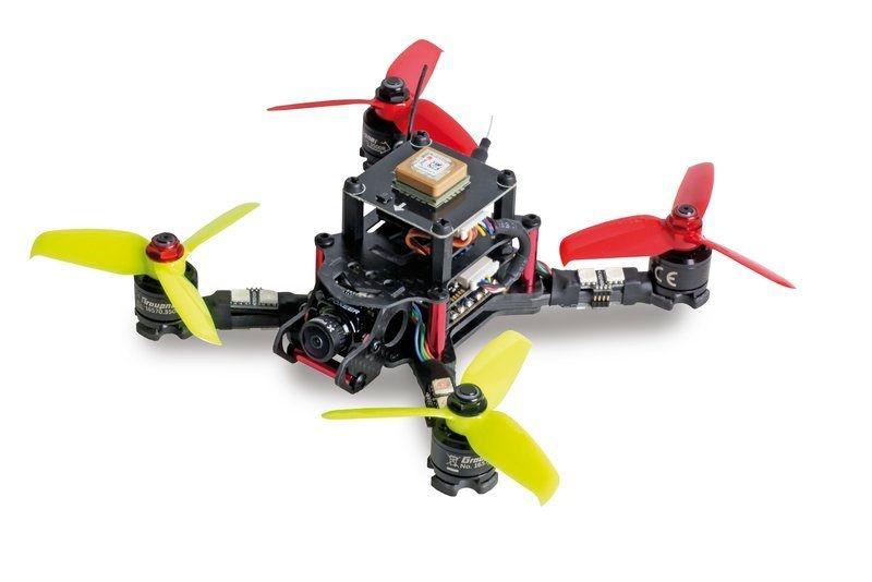 Quadrocopter Alpha 150Q mit FPV-Kamera und GPS