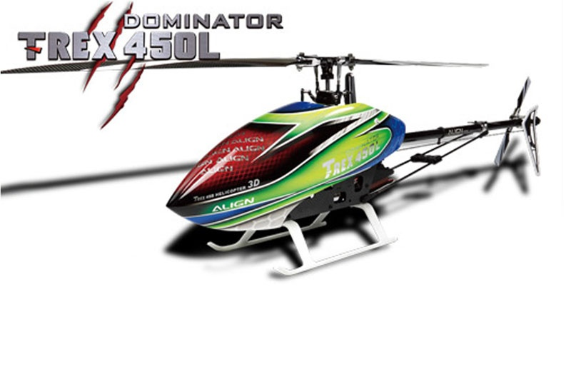 T-REX 450L Dominator Super Combo (6S) MICROBEAST Plus