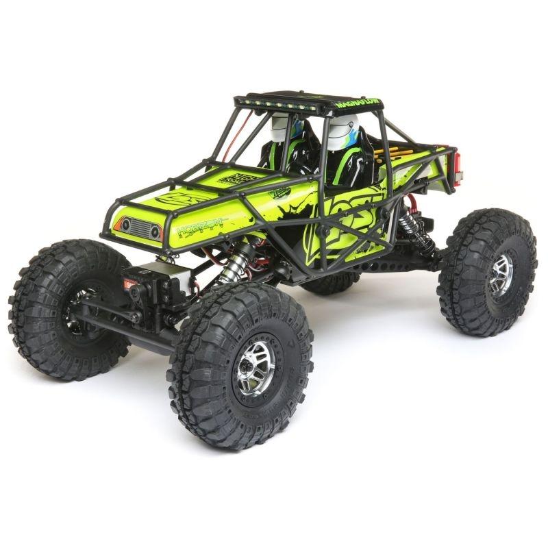 Night Crawler SE 1/10 4WD Rock Crawler Brushed RTR, grün
