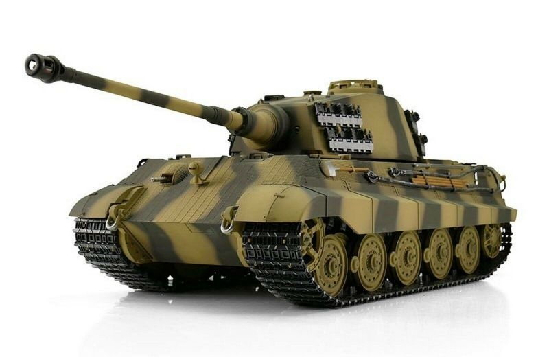 Königstiger II BB 1/16 RC Panzer mit Schussfunktion