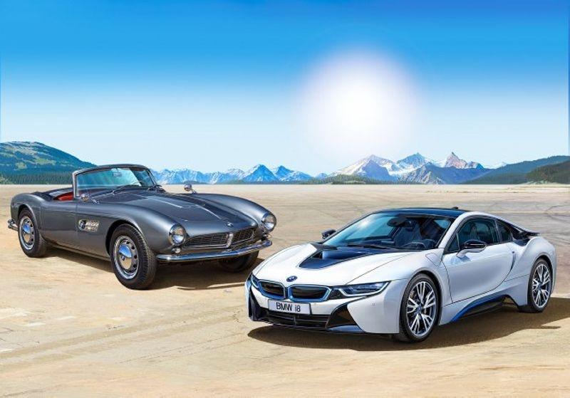 Geschenkset 100 Jahre BMW 1:24