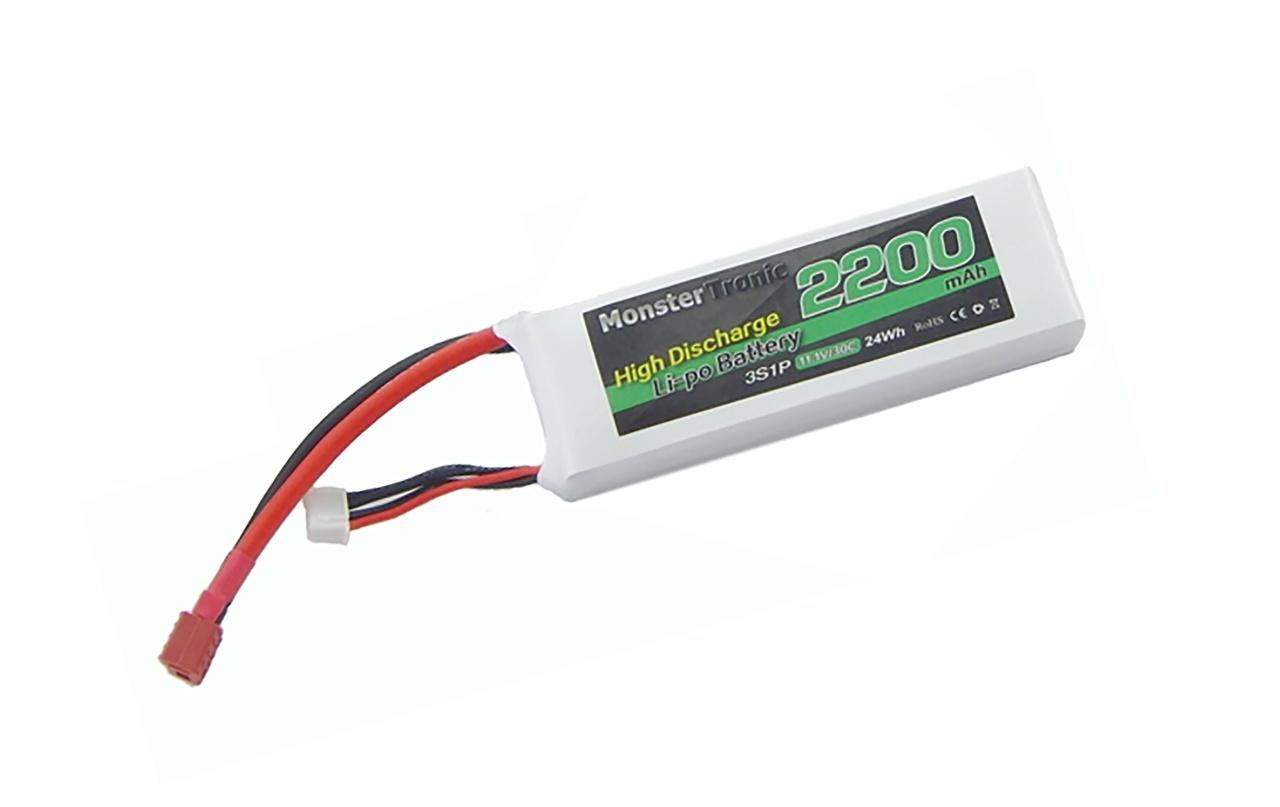 Akku Lipo 11,1V 2200mah T-Plug Invader