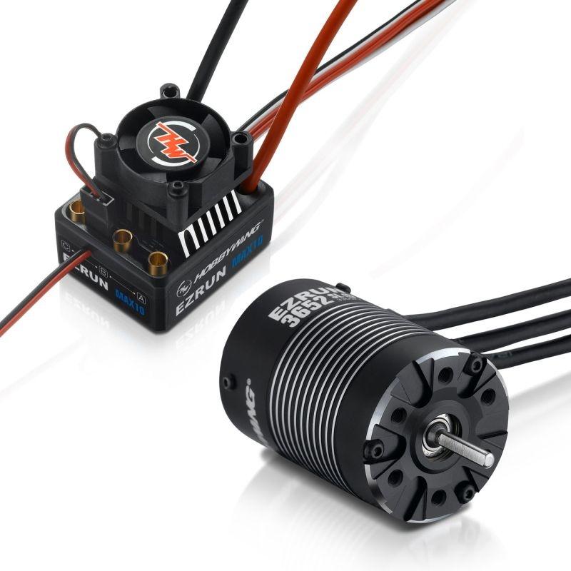 Ezrun MAX10 Brushless Combo mit 3652SL-3300kV Sensorless