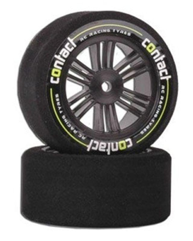 CONTACT Nitro 1:10 Carbon-Felge 35° vorn 26mm Moosgummi