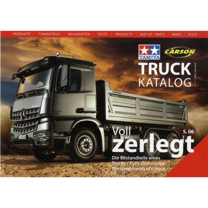 Truck-Katalog 2018 Tamiya und Carson