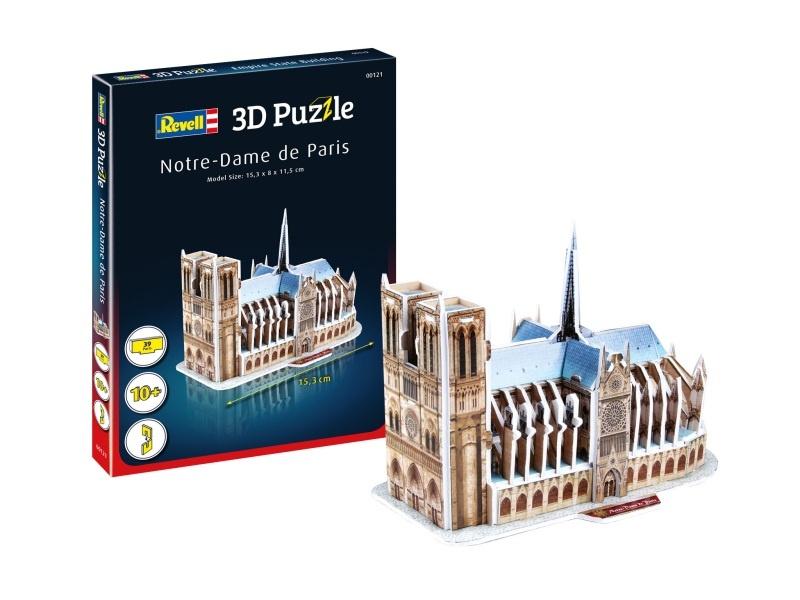 3D Puzzle Notre-Dame de Paris 39 Teile