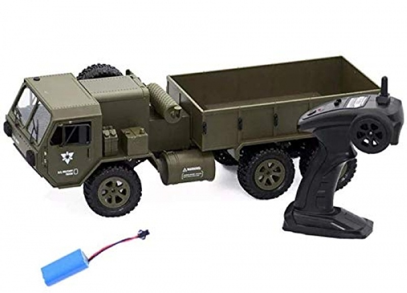 Metall 6x6 US Army Truck 1:12, 2,4GHz RTR