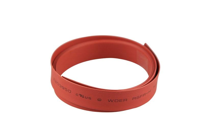 Schrumpfschlauch  Ø8mm x 1m  rot
