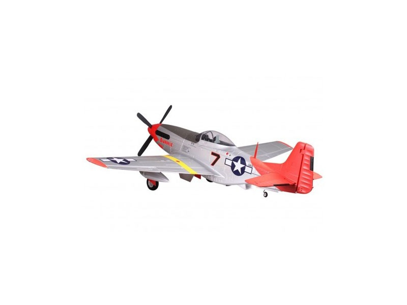 P-51 Mustang Red Tail PNP 170 cm Combo inkl. Reflex Gyro
