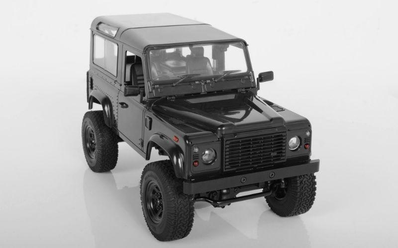1:18 Gelände II Scale 4x4 RTR Truck D90 Karosserie schwarz