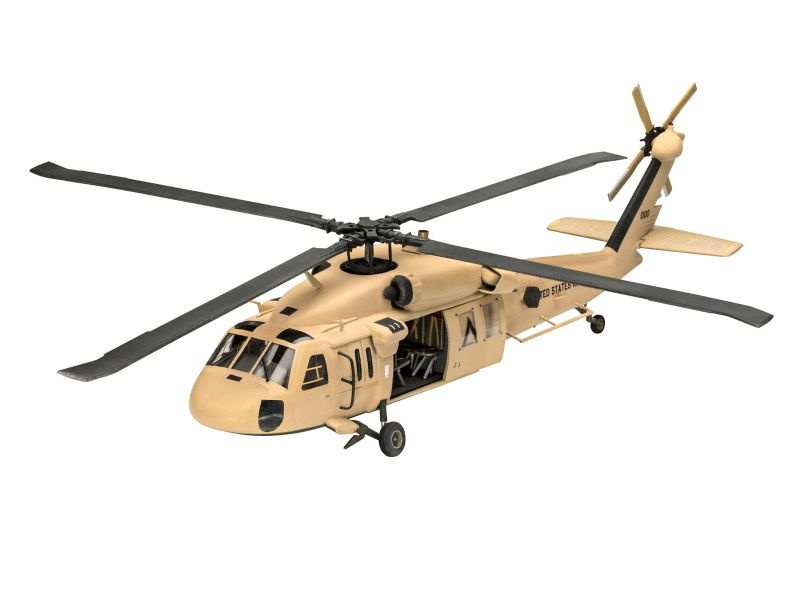 UH-60 Transport Helikopter Bausatz 1:72