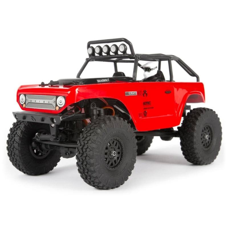 SCX24 Deadbolt 4WD Scale Crawler 1:24 RTR, rot