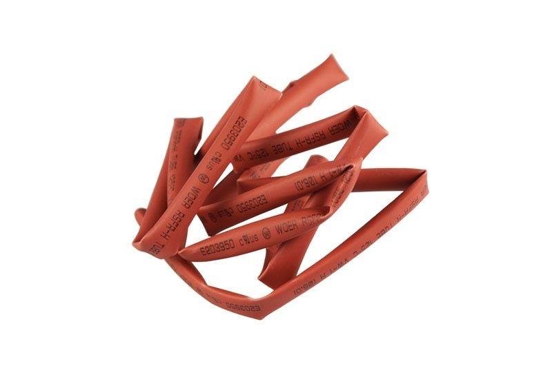Schrumpfschlauch 6mm x 1m in rot