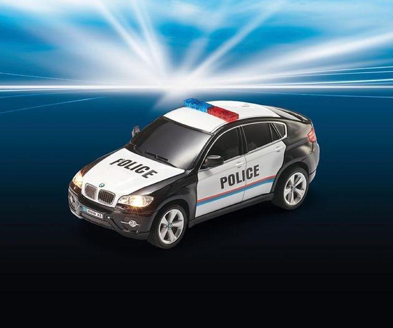 BMW X6 Police 1:24