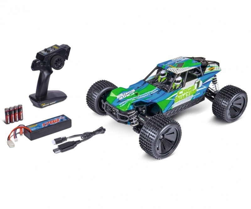Cage Buster 4 WD 2.4GHz 1:10 100% RTR
