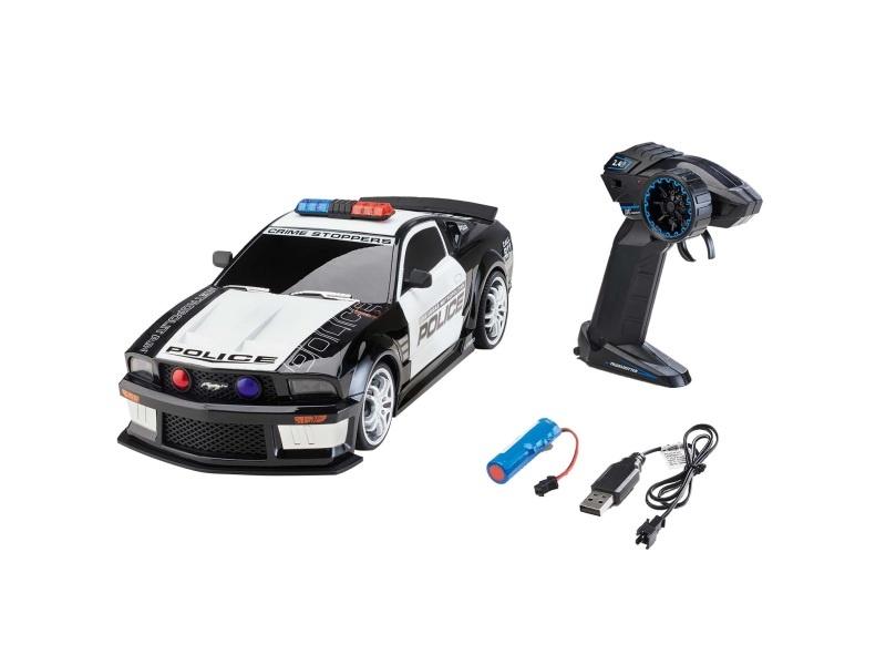 Ford Mustang Police 1:12 RC Car Licht und Sound 2,4GHz RTR